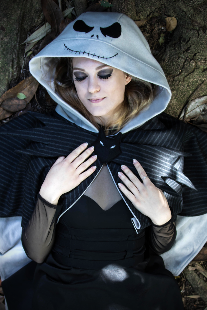 Jack Skellington Cape - Button Fox