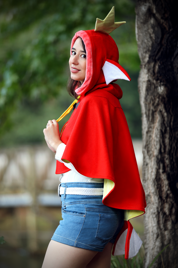 Magikarp Cape - Button Fox ボタン狐