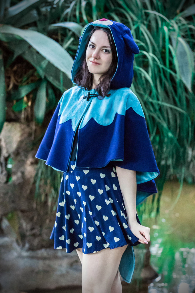 Sun & Moon Capelets - Button Fox ボタン狐