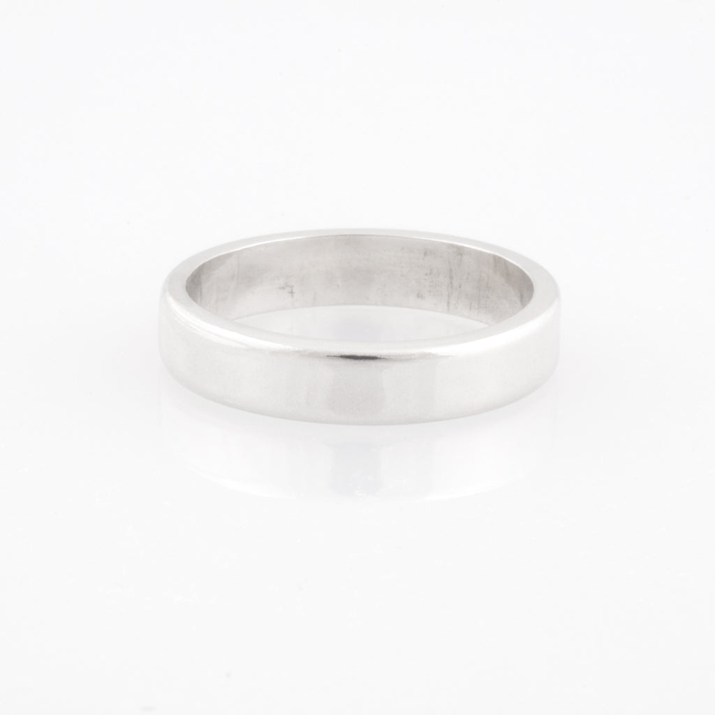 heavy sterling silver band
