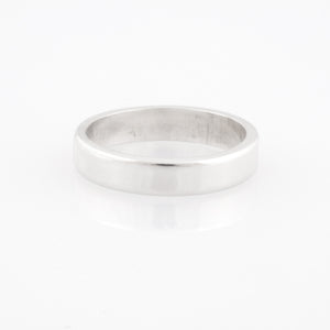 handmade heavy sterling silver band