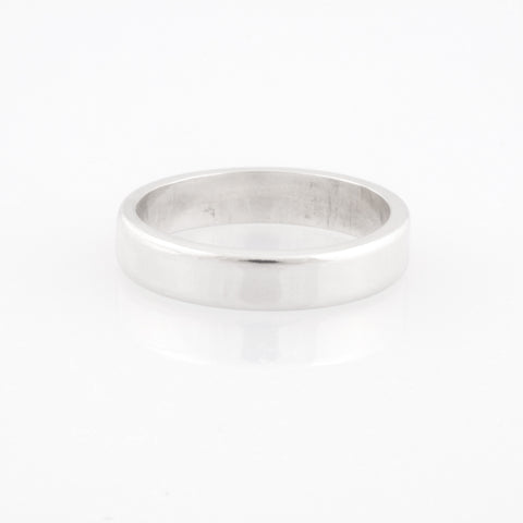 Heavy Plain Silver Ring