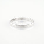 handmade plain sterling silver band
