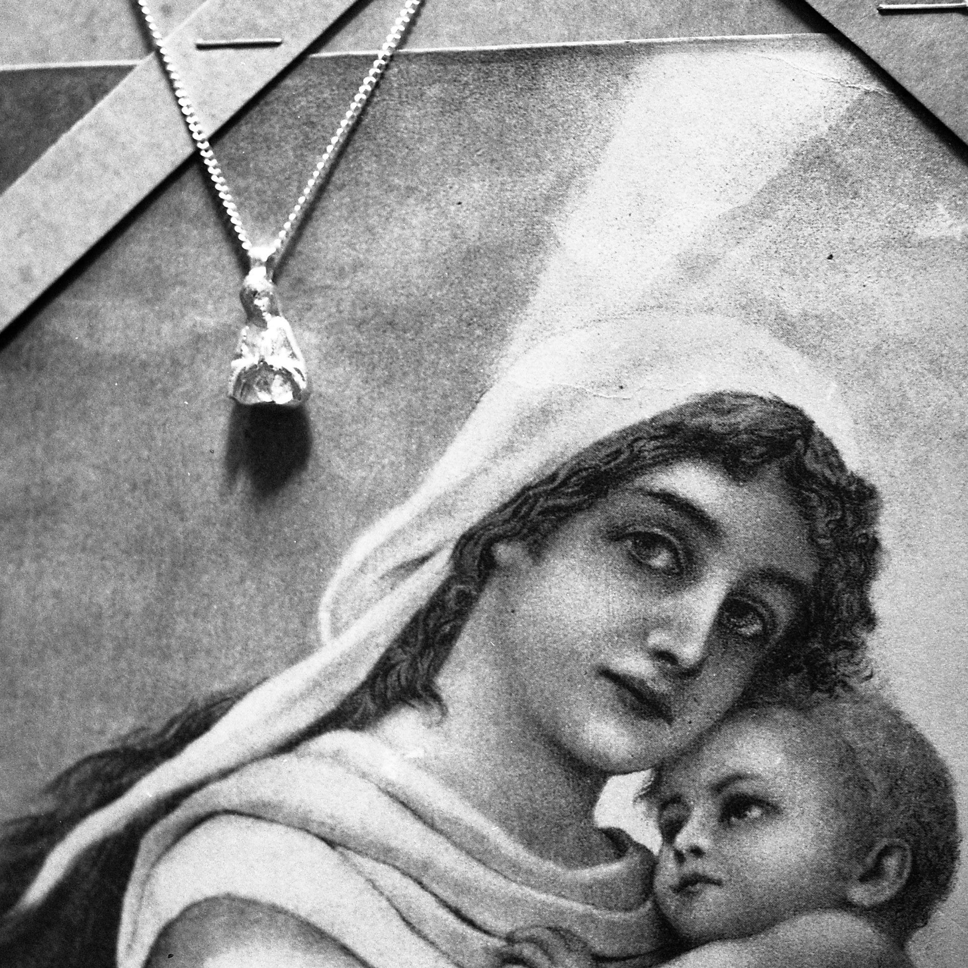 Religious Jewelry Mary Pendant