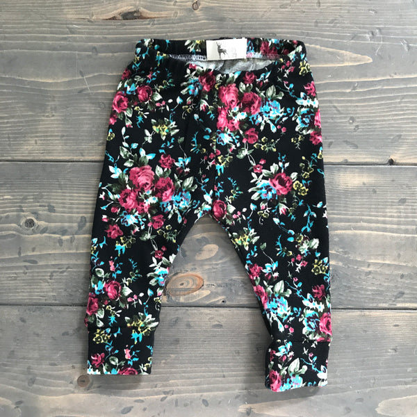 3-6m Leggings {floral}