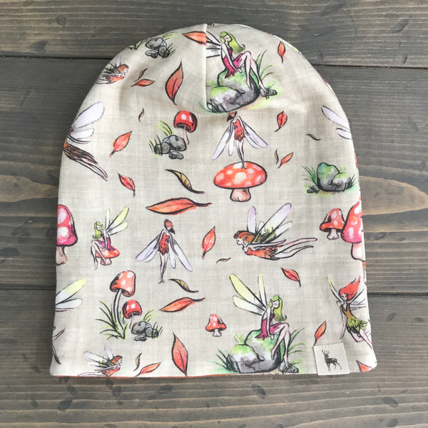 6-12m Slouchy Toque {fall fairies}