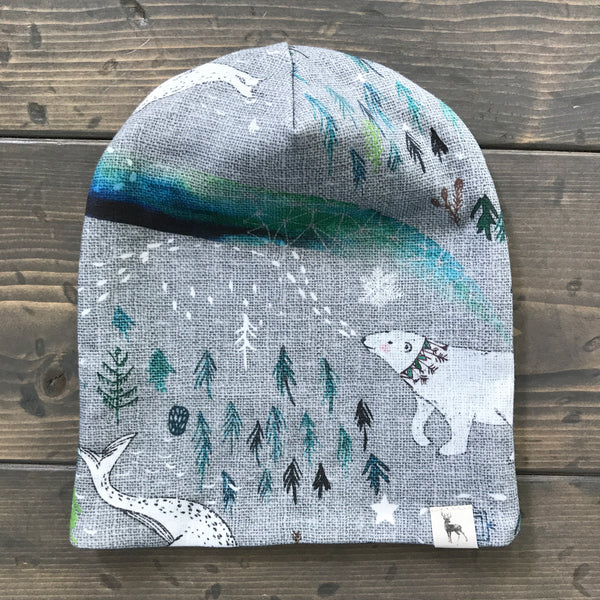 0-3m Slouchy Toque {wild north}