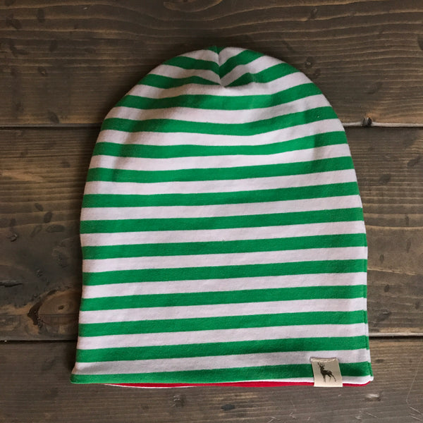 3-5yrs Elf Slouchy Toque {green}