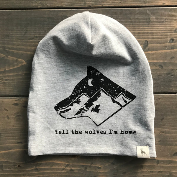1-3yrs Slouchy Toque {tell the wolves i'm home}