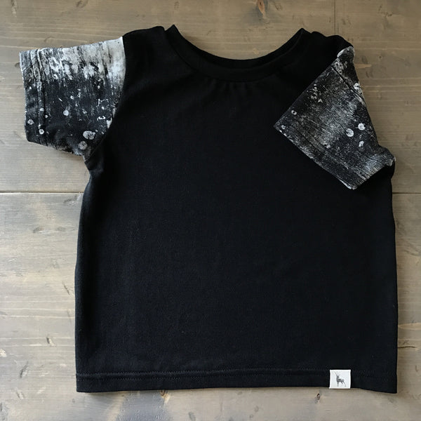 12-18m Baggy Tee {concrete}