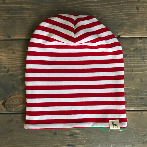 Elf Slouchy Toque {red}