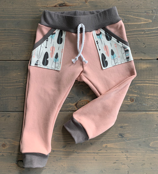 2T Joggers {feathers}