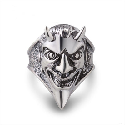 Sterling Silver Ring in Le Vampire for Men - ABC Necklace