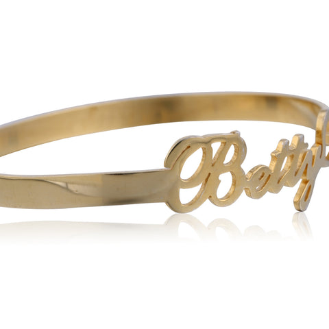 24K Gold Plated Name Bracelet - ABC Necklace