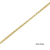 24K Gold Plated Carrie Name Necklace - ABC Necklace