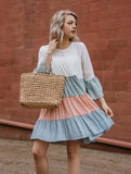 Pastel Layered Dress