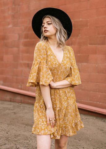Floral Golden Hour Dress