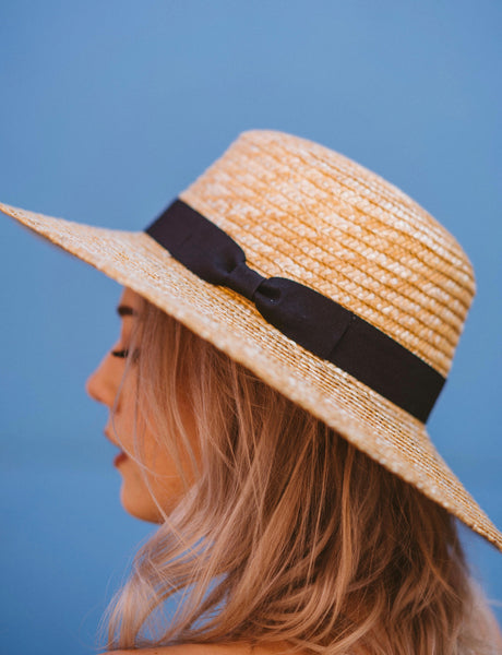 Pixie Straw Hat Natural