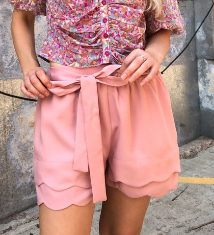 Sixth Avenue Shorts Blush Pink