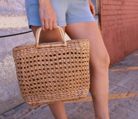 The Betty Summer Straw Bag