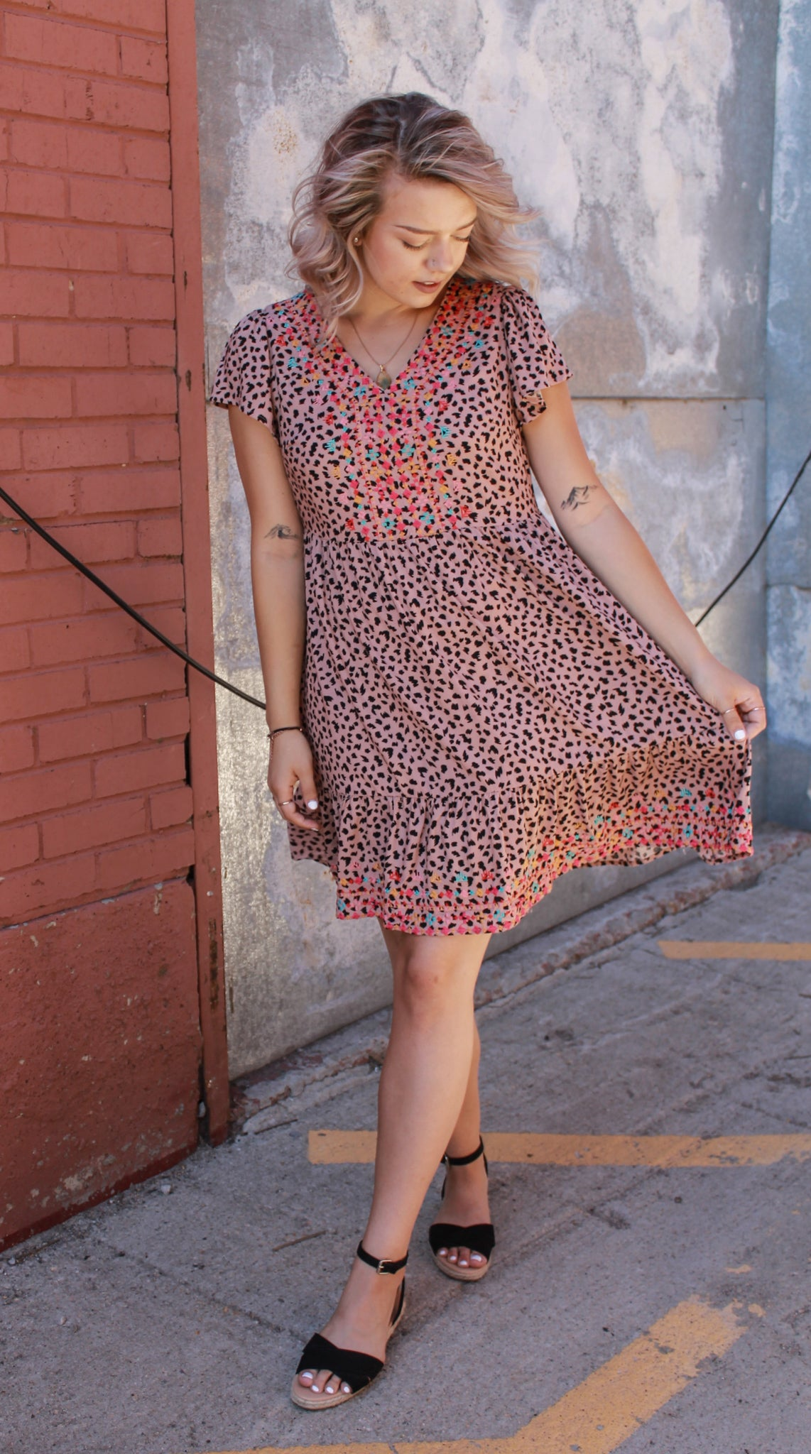 Print And Stitch Dress