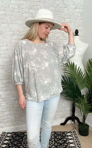 Splatter Dot Top