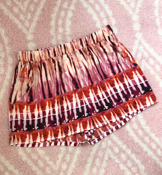 Casual 'N Cute Sunset Shorts