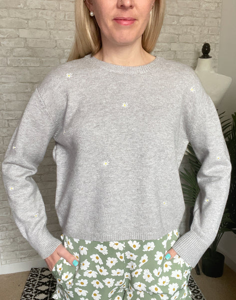 Daisy Dots Sweater