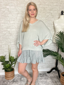Cabo Breeze Knit Top