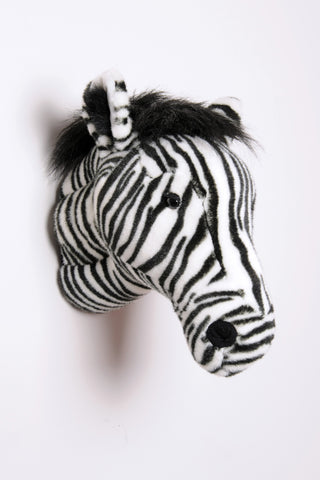 Wild & Soft Plush Animal Head Daniel The Zebra