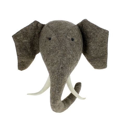 Fiona Walker Elephant Animal Head - The Little Interior
