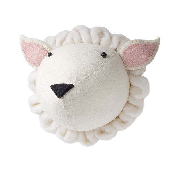 Fiona Walker Sheep Animal Head (PRE ORDER OCTOBER) - The Little Interior