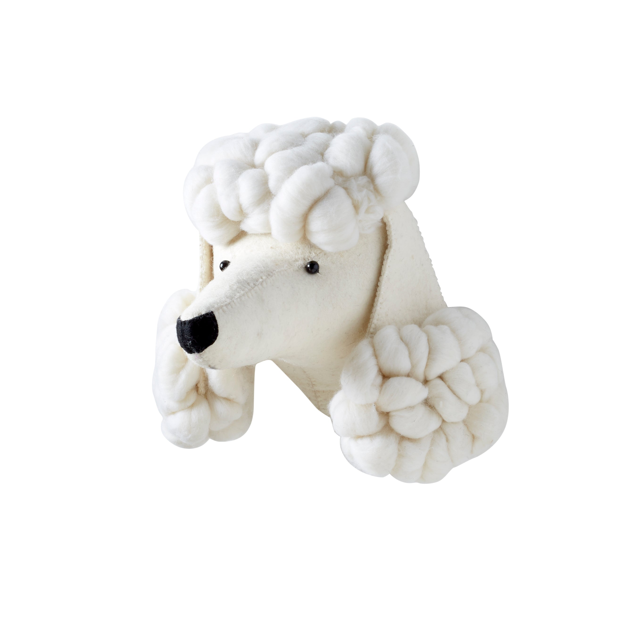 Fiona Walker Poodle Animal Head - The Little Interior
