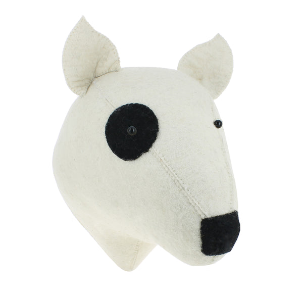 Fiona Walker Dog Bull Terrier Animal Head (PRE ORDER MARCH) - The Little Interior