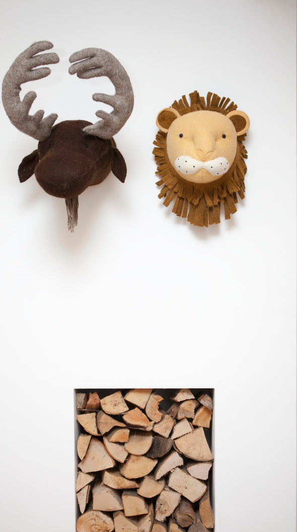 Fiona Walker Moose Animal Head - The Little Interior