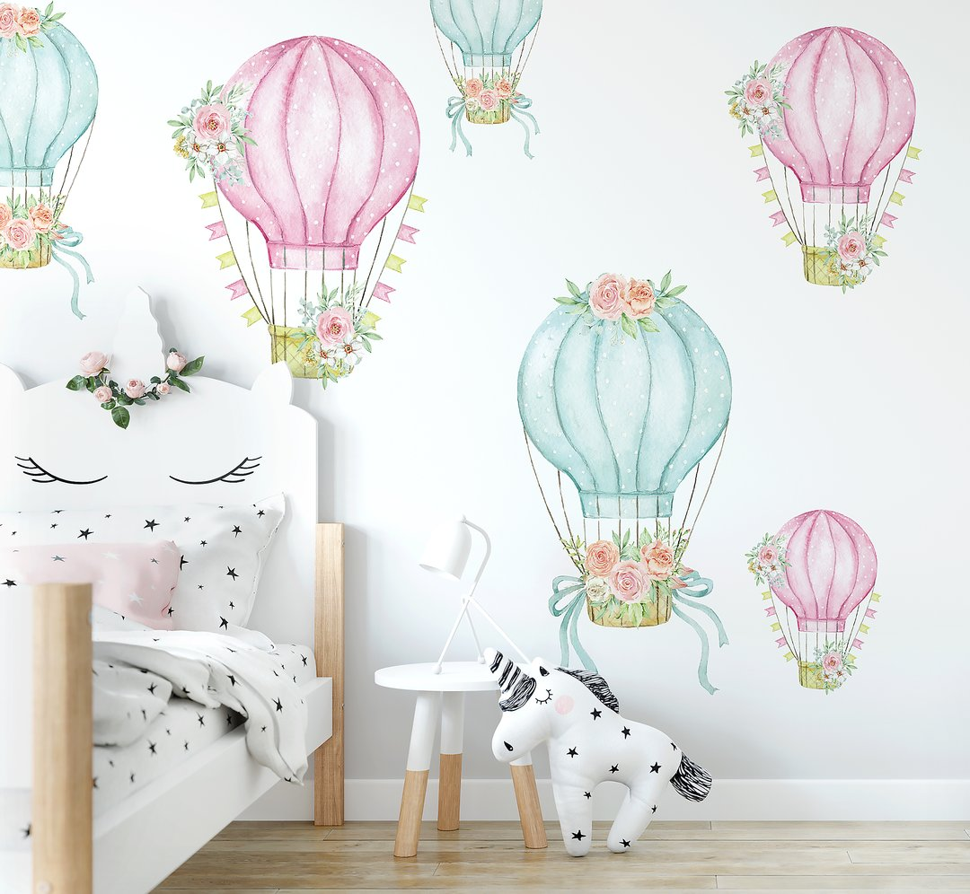 Hot Air Balloon Decal Set (PRE ORDER END MARCH) - The Little Interior