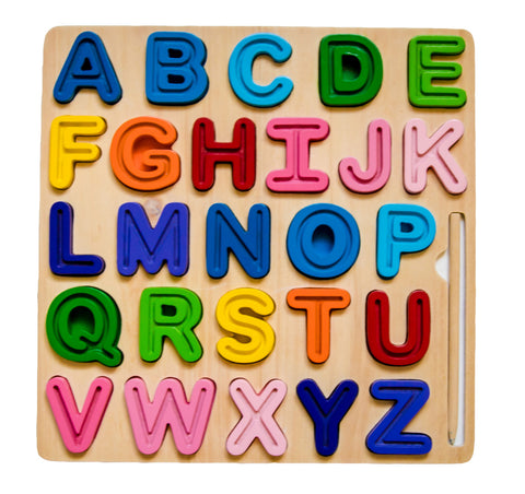 ABC Chunky Uppercase & Tracing Puzzle