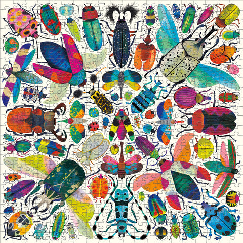 Mudpuppy 500 Pc Puzzle - Kaleido Beetle