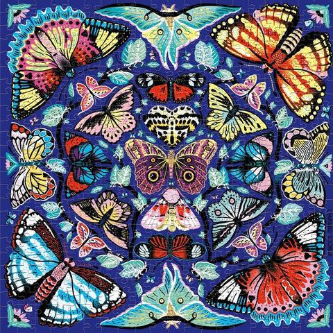 Mudpuppy 500 Pc Puzzle - Kaleido Butterflies