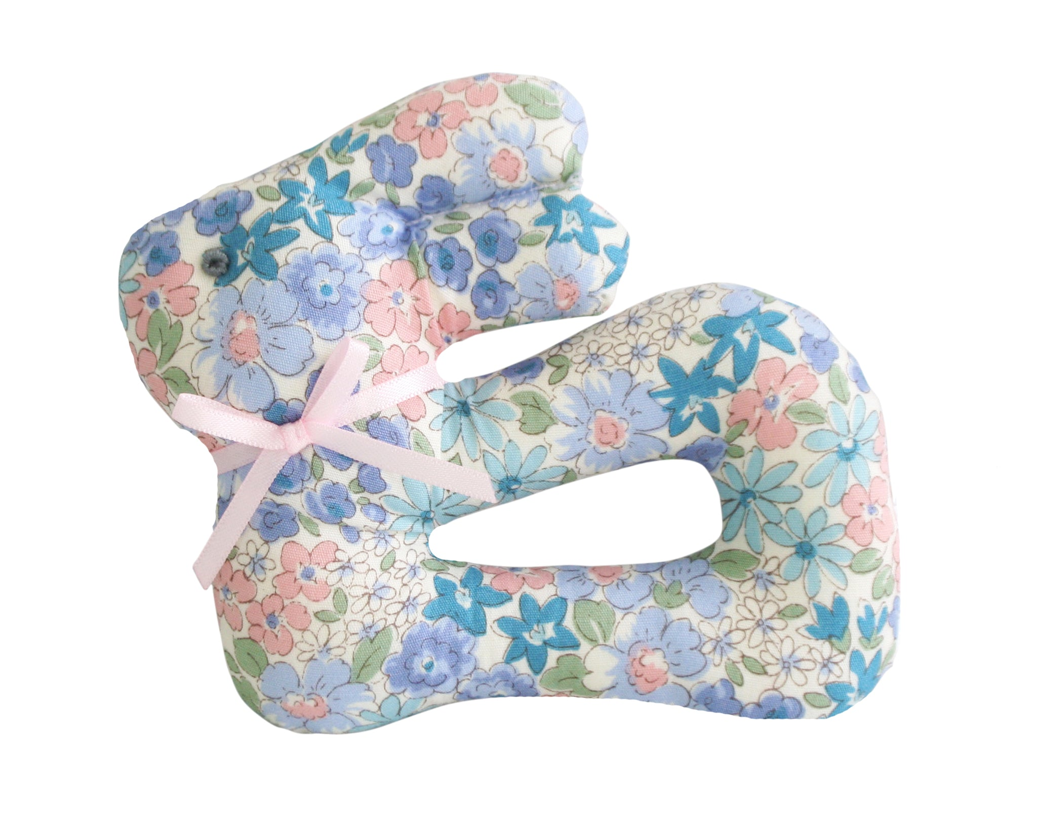 Alimrose My First Bunny Rattle Liberty Blue