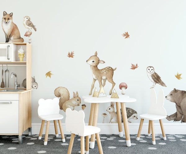 Woodland Animal Set  (PRE ORDER MAY) - The Little Interior