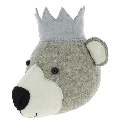 Mini Fiona Walker Baby Bear With Crown