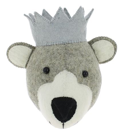 Mini Fiona Walker Baby Bear With Crown - The Little Interior