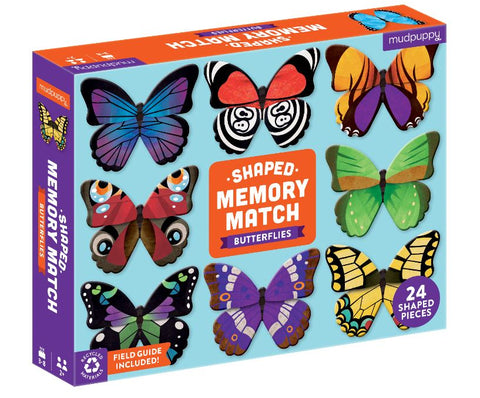 Mudpuppy - Memory Match Butterflies - The Little Interior