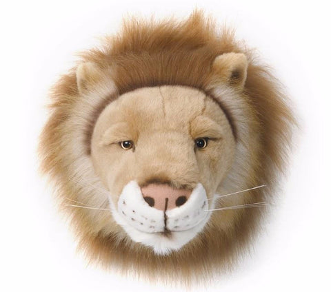 Wild & Soft Plush Animal Head Cesar The Lion