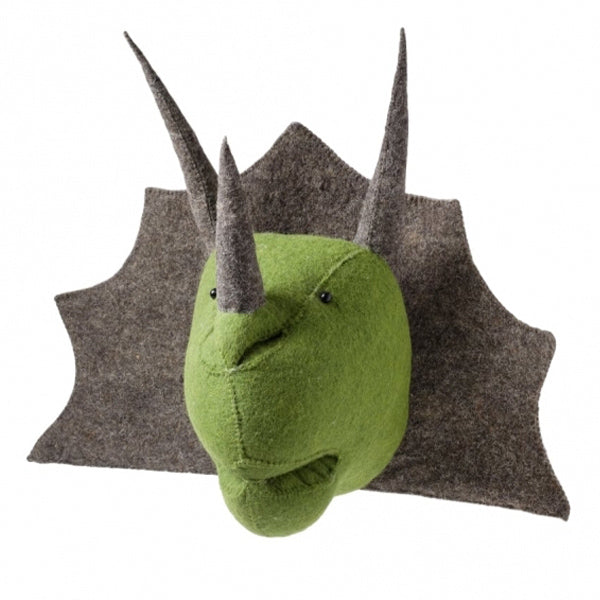 Fiona Walker Triceratops Animal Head - The Little Interior
