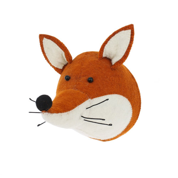 Fiona Walker Fox Animal Head (PRE ORDER JAN) - The Little Interior