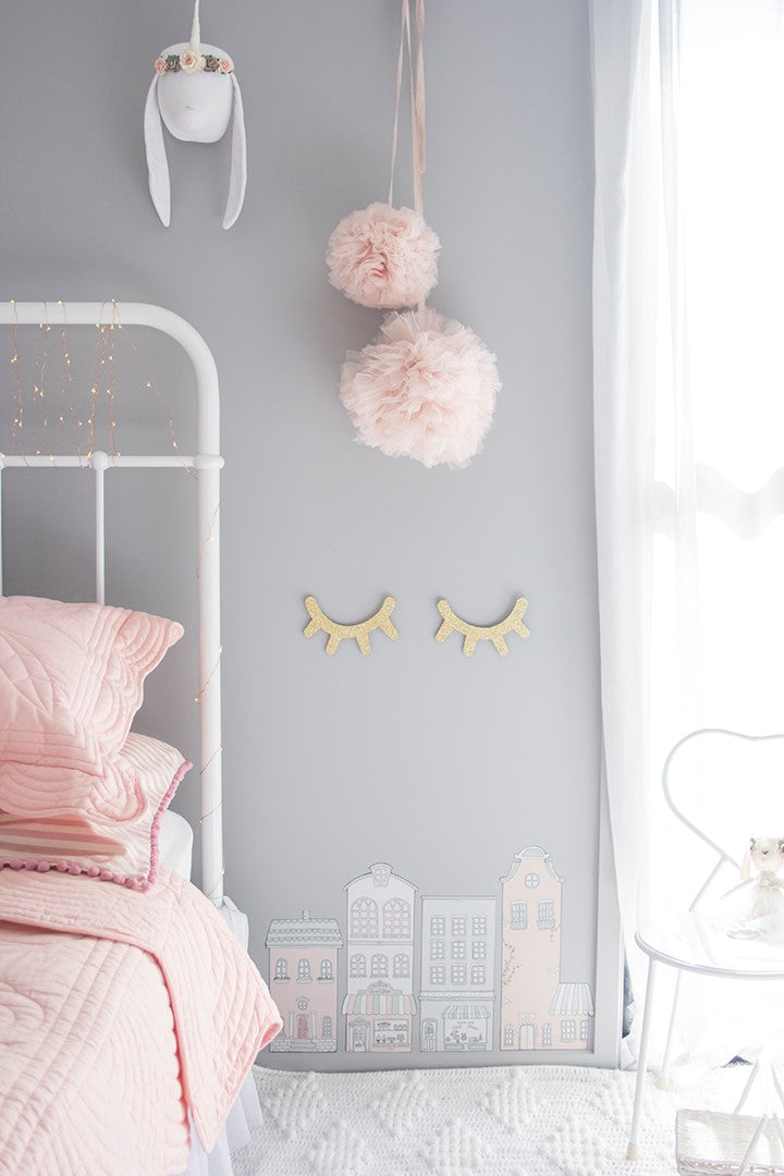 Little Sailah Lane Wall Stickers - Pink Set - The Little Interior