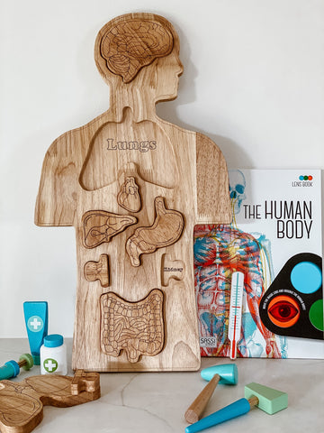 Wooden Anatomy Puzzle
