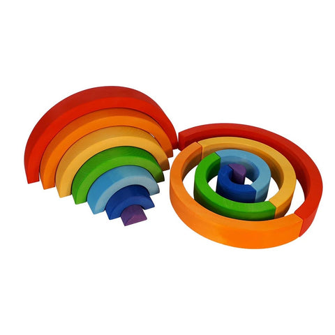 Bauspiel Rainbow - Large